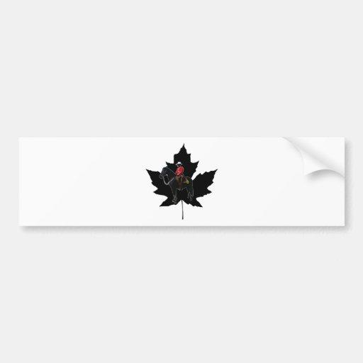 Celebrate Canada Day Bumper Stickers