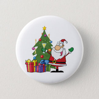 Celebrate Christmas 2 Inch Round Button