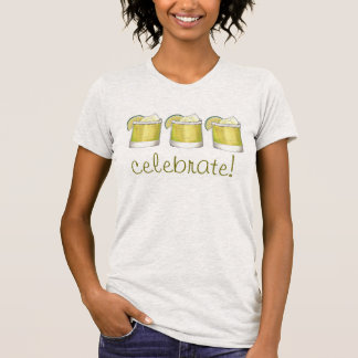 Celebrate Cinco de Mayo Margarita Cocktail Drink T-Shirt