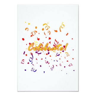 Celebrate Confetti Card