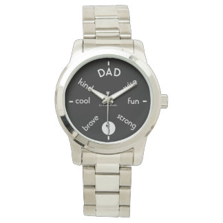 Celebrate Dad Wristwatches