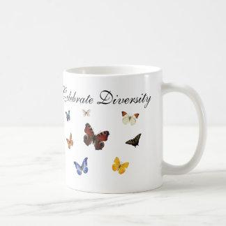 Celebrate Diversity Butterflies Coffee Mug