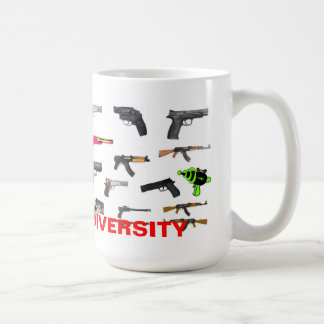 CELEBRATE DIVERSITY CLASSIC WHITE COFFEE MUG