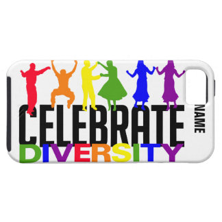 Celebrate Diversity custom iPhone 5 Case-Mate