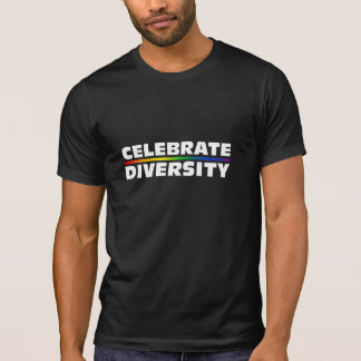 Celebrate Diversity Dark Destroyed T-Shirt