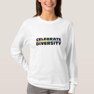 Celebrate Diversity Ladies AA Hoody Long Sleeve (F