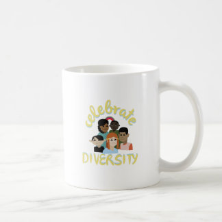Celebrate Diversity Basic White Mug