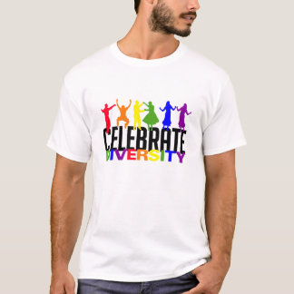 Celebrate Diversity shirt - choose style & color