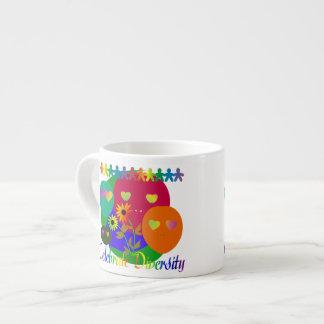 Celebrate Diversity Espresso Mug