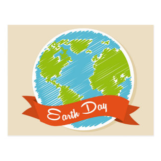 Celebrate Earth Day - April 22nd Postcard