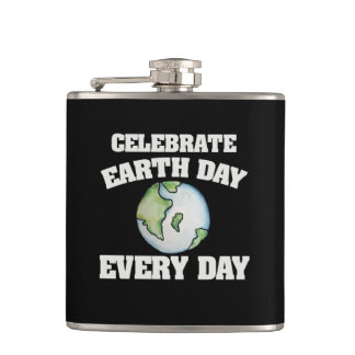 Celebrate earth day every day flasks