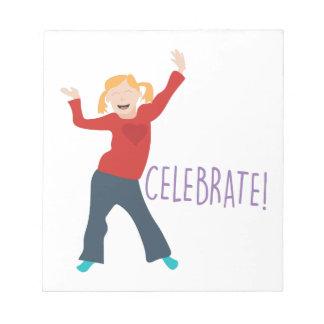 Celebrate Girl Notepad