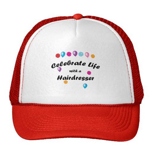 Celebrate Hairdresser Trucker Hats