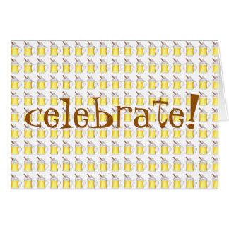 Celebrate! Holiday Egg Nog Eggnog Christmas Card
