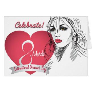 Celebrate - International Woman's Day Card