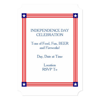 Celebrate It ALL! July 4th Party Invitation