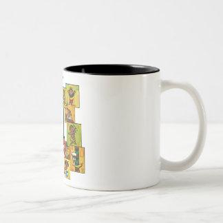 Celebrate Kwanzaa Together Two-Tone Coffee Mug