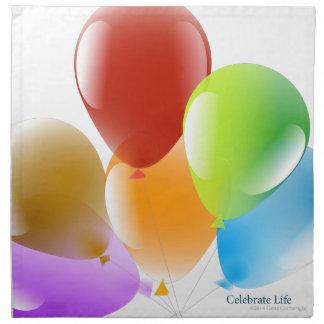 Celebrate Life Printed Napkins
