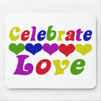 Celebrate Love Mouse Mat