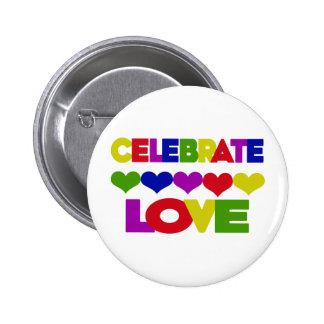 Celebrate Love Pins