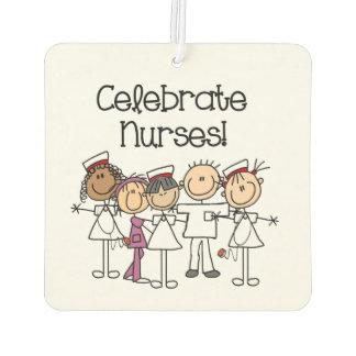 Celebrate Nurses Air Freshner Car Air Freshener
