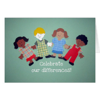 Celebrate Our Differences! Card