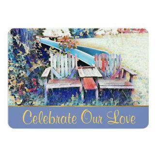 Celebrate Our Love Wedding Invitation