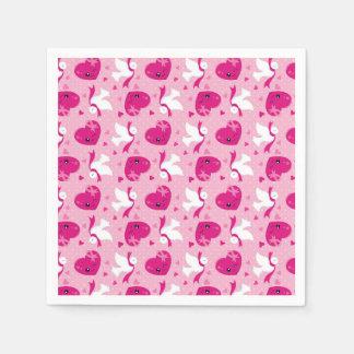 Celebrate pink event napkin
