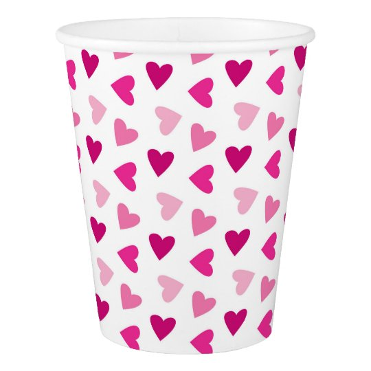 Celebrate pink event paper cup