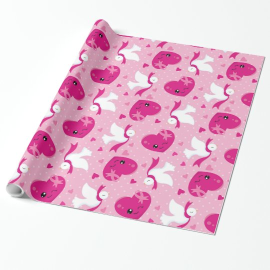 Celebrate Pink event Wrapping Paper