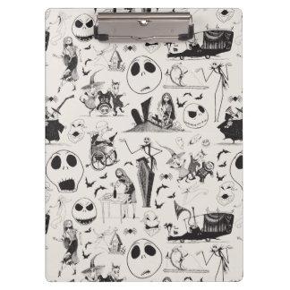 Celebrate Spooky - Pattern Clipboard