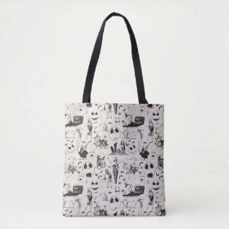 Celebrate Spooky - Pattern Tote Bag