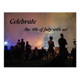 Celebrate The 4th Postcard