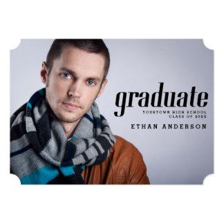 Celebrate the Graduate Photo Graduation Party Cards