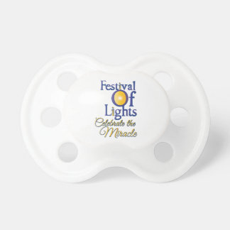 Celebrate The Miracle Pacifiers