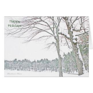 Celebrate the Spirit of the Season: Walden Pond Card