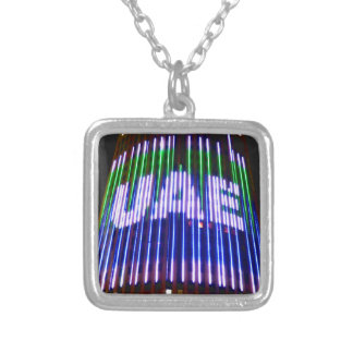Celebrate the UAE Silver Plated Necklace