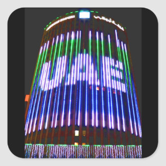 Celebrate the UAE Square Sticker