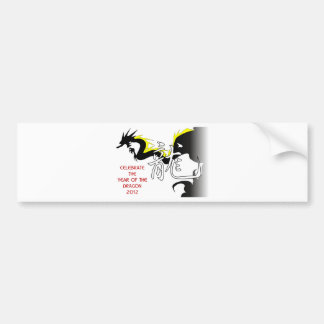 Celebrate The Year Of The Dragon 2012 Bumper Stickers