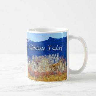 Celebrate Today Bookcliffs Mug