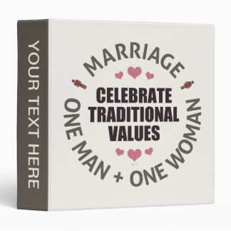 Celebrate Traditional Values Binders