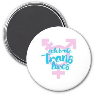 Celebrate Trans Lives - Trans Symbol - -  Magnet