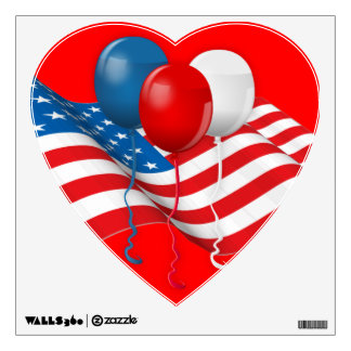Celebrate USA Wall Sticker
