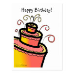 CELEBRATE WITH CAKE! POSTCARDS