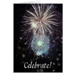 Celebrate With Fireworks! Cards