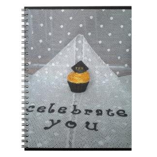 """""""Celebrate You"""" notebook"""
