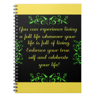 Celebrate Your Life 2 Notebook