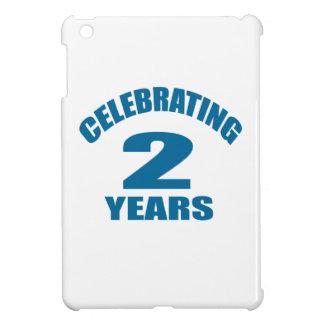 Celebrating 02 Years Birthday Designs iPad Mini Cover