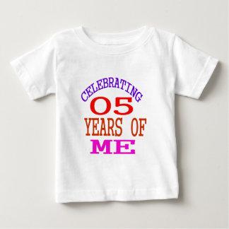 Celebrating 05 Years Of Me Baby T-Shirt