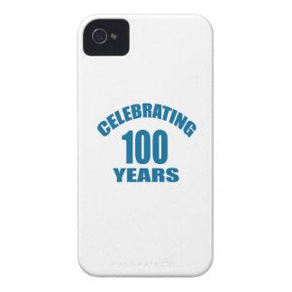 Celebrating 100 Years Birthday Designs iPhone 4 Case-Mate Case